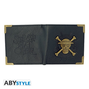 One Piece Cartera Premium Skull