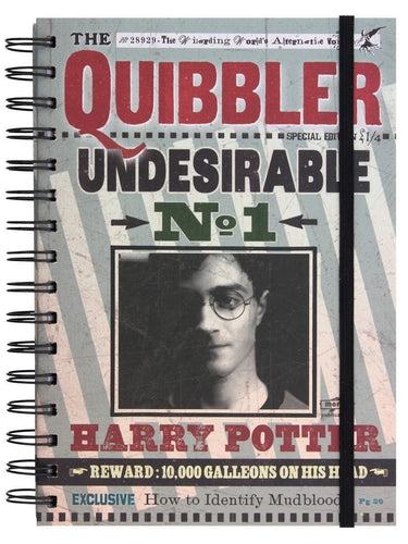 Harry Potter Libreta A5 Quibbler