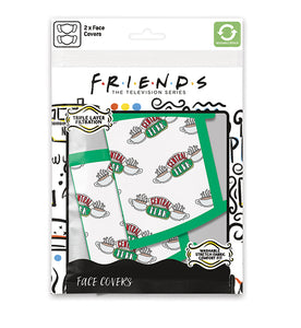 Friends Pack de 2 Cubrebocas Central Perk