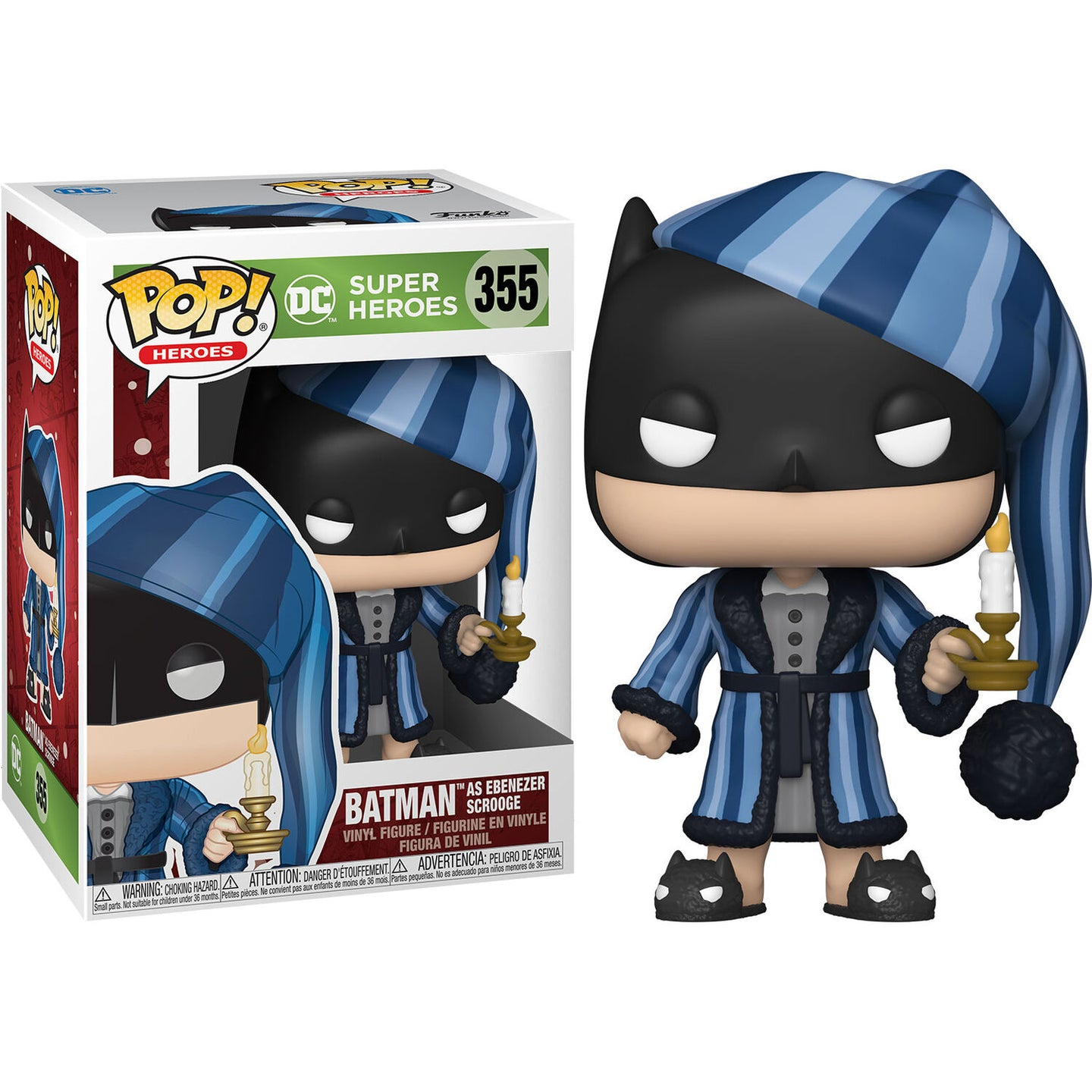 Batman POP! Vinyl Holiday Scrooge Batman