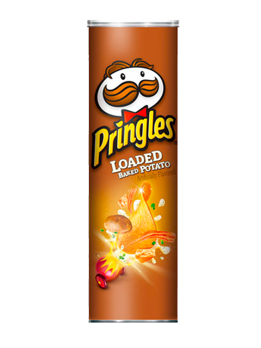 Pringles Patatas Sabor Loaded Baked Potato (Patatas al horno)