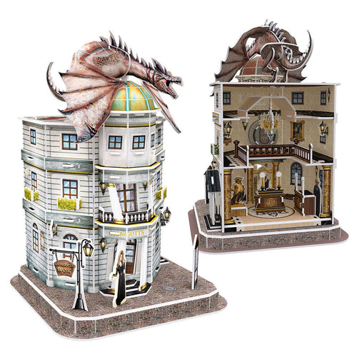 Harry Potter Puzzle 3D Banco de Gringotts