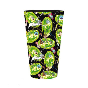 Rick y Morty Vaso Large Portales