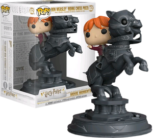 Harry Potter Movie Moments Vinyl Ron Riding Chess Piece