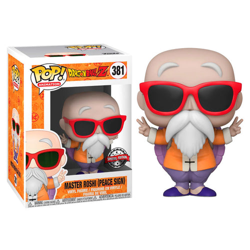 Dragon Ball Z POP! Vinyl Master Roshi Peace Sign Exclusive