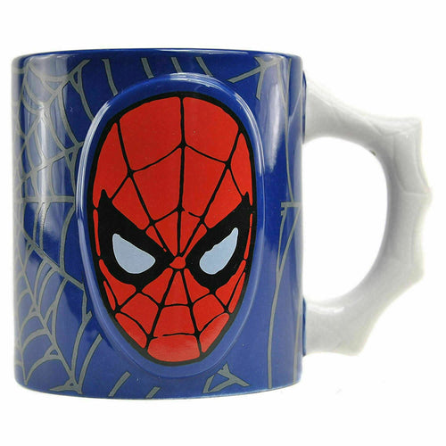 Marvel Comics Taza Embossed Spiderman