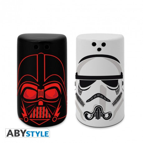 Star Wars Salero y Pimentero Darth Vader & Stormtrooper