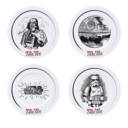Star Wars Set de Platos Join the Dark Side