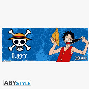 One Piece Taza Luffy y Emblema