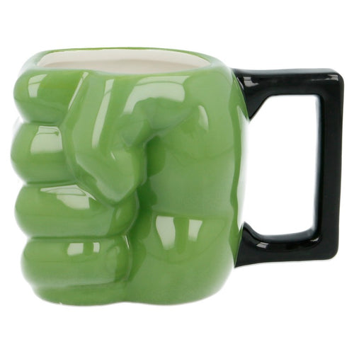 Marvel Comics Taza 3D Puño Hulk Vista Lateral
