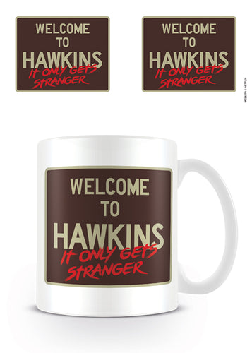 Stranger Things Taza Welcome to Hawkins