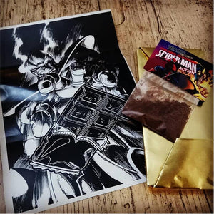 Vengadores Infinity War Tableta de Chocolate Thanos Snap