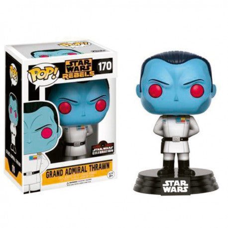 Star Wars Rebels POP! Vinyl Grand Admiral Thrawn Gallactic Convention 2017