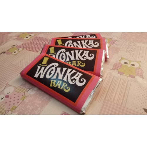 Willy Wonka Mini Tableta Chocolate