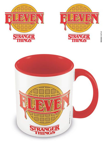 Stranger Things Taza Coloured Inner Eleven
