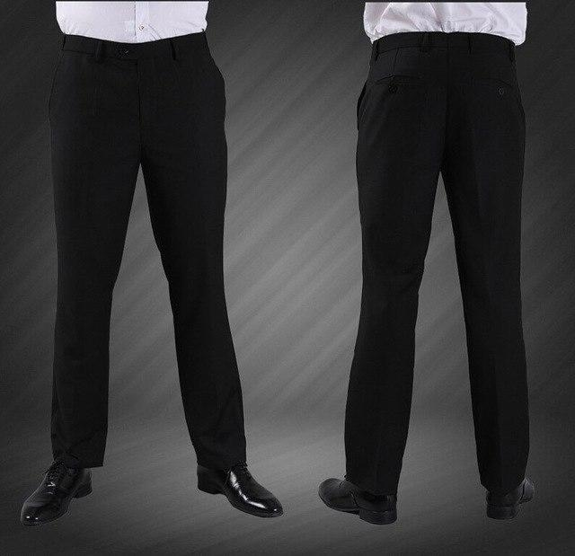 (Single Pant) High Quality Men Suit Pant 2017 New Arrival Slim Fit Fashion Brand Business Dress Wedding Trousers J1004-cgabuy