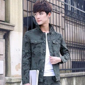 LiSENBAO Military Jacket Men Coat Army Green Jacket Men Camouflage Jacket Casual Brand Clothing Plus Size 3XL Coats-cgabuy