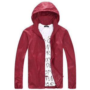 BACHASH New Spring Summer Brand Jackets ultra-thin Zipper men's Windproof Solid Casual Loose Solid Coats For Small Rain With-cgabuy