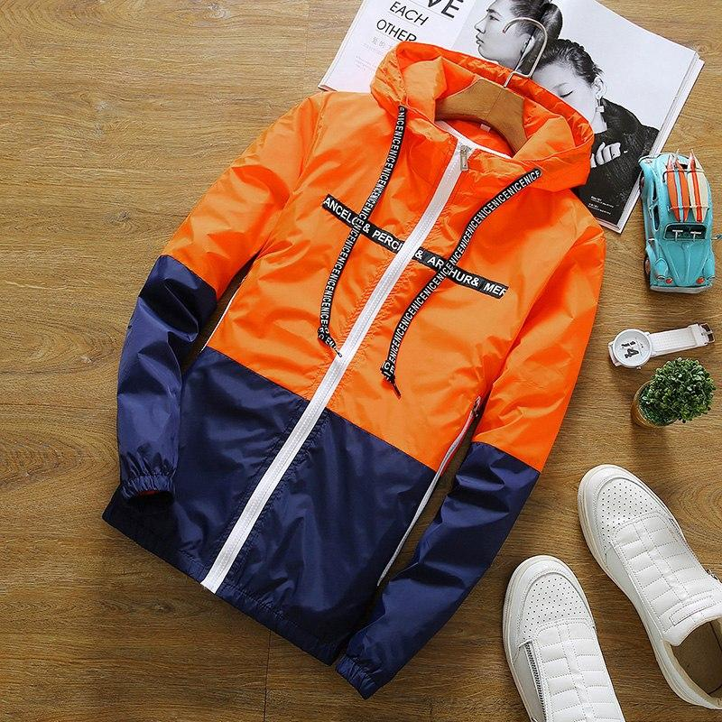 HCXY Jacket Men Summer Hooded Sunscreen Jackets Windbreaker Fashion Brand Clothing Women Men Veste Homme Plus Size S-3XL-cgabuy