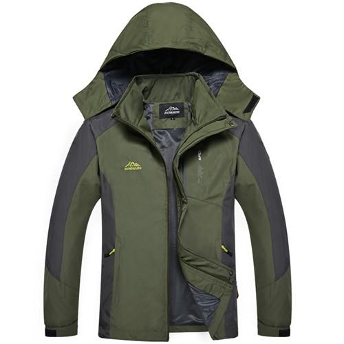 PEILOW Male Jacket Spring Autumn Brand Waterproof Windproof Jacket Coat Tourism Mountain Jacket Men brand clothing size M~4XL-cgabuy