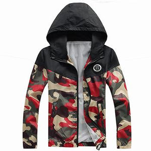 2017Jaqueta De Masculina Spring Summer Men's Camouflage jackets Casual Coat Fashion Windbreaker High Quality a jacket-cgabuy