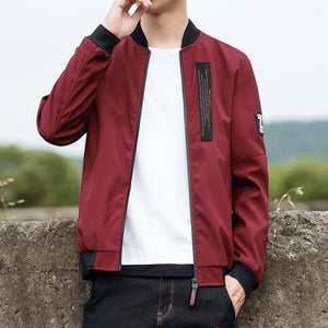 Grandwish Plus Size 4XL Men's Jackets Coats Hip Pop Streetwear Jacket Male Slim Fit Mens Windbreaker Jacket 5 Colors ,DA496-cgabuy
