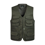 ZozoMan Vests Sleeveless Unloading Fashion Waistcoat With Many Male Coat Pockets Military Jacket Mens Tactical Vest Sweatshirts-cgabuy