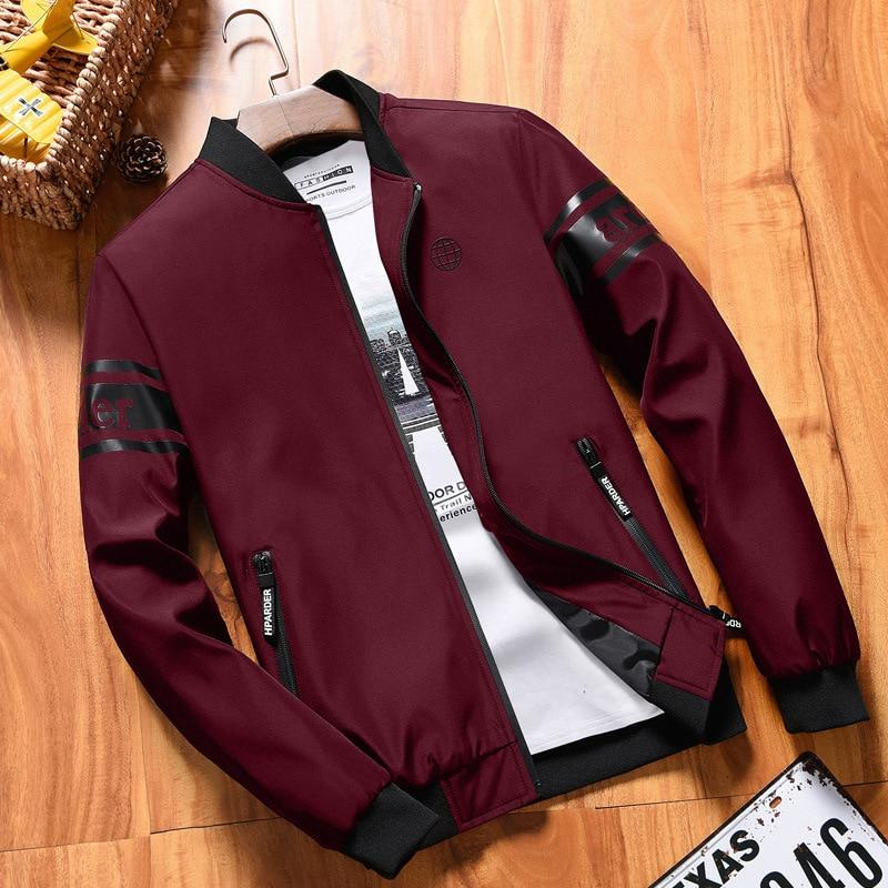 YuWaiJiaRen Autumn Spring Bomber Jacket Men Fashion Long Sleeve Mens Strand Collar Military Windbreaker Male Baseball Jacket 6XL-cgabuy