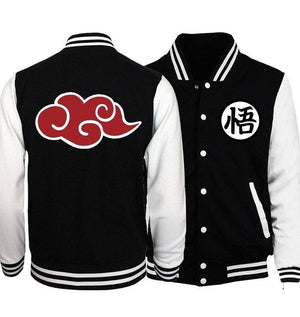 Japanese Anime Dragon Ball Z Baseball Uniform Jackets Men 2018 Spring Fashion Hoodies Men Cosplay Costume Plus Size S-5XL-cgabuy