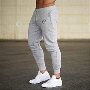 2018 New Men Joggers Brand Male Trousers Casual Pants Sweatpants Jogger Gray Casual Elastic Cotton GYMS Fitness Workout Pants-cgabuy