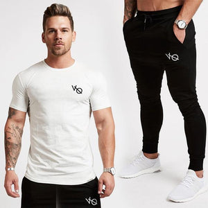 2017 New VQ Gyms clothing in men pants men fashion Jogger Pants Skinny casual trousers pants top quality sweatpants-cgabuy
