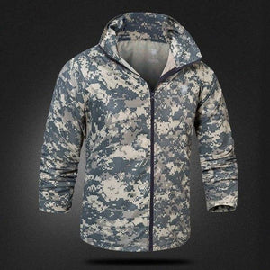 Navy Seals Tactical Jacket Military Army Softshell Camouflage Windbreaker Quick Dry Jacket Hooded Waterproof Thin Camo Coat-cgabuy