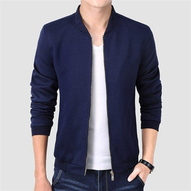 New Men Autumn Jacket Fashion Luxury Windbreaker Men Bomber Jacket Coat For Drop Shipping-cgabuy