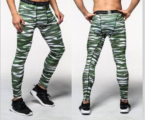 2018 Joggers Men Compression Pants Tights Casual Bodybuilding Man Trousers Brand Camouflage Army Fitness Gyms Skinny Leggings-cgabuy