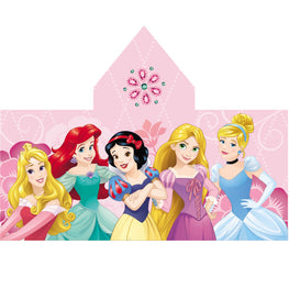 Disney Princess Cotton Hooded Towel for Kids - 23 x 51 Inch