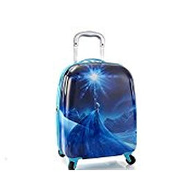 "Disney Frozen Elsa 20"" Carry-on Spinner Luggage, Tween Carry-on"