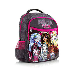 Heys Mattel Tween Monster High Kids Multicolored School Backpack 17 Inch