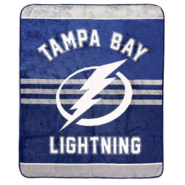 NHL 53559-FLE-150A-TMPA Tampa Bay Lighting Luxury Velour Blanket