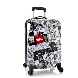 Marvel Comics Print Young Adult Hardside Spinner Luggage - 26 inch