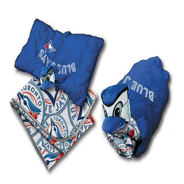 MLB Toronto Blue Jays 2 Piece Set Blanket and Plush Pillow
