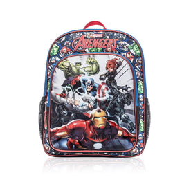 Marvel Avengers 16 Inch Kids Backpack - School Bag for Boys with Characters Symbol Sign Icon