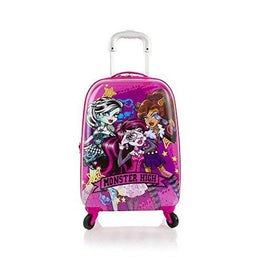 "Monster High Tween Spinner Luggage 21"" Case Expandable Carry On Approved"
