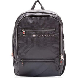 Air Canada 17 Inch Lightweight Business Backpack with RFID Pocket and USB Charging Port