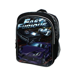 Fast and Furious Hit the Road Sublimation Print 16 inch Backpack