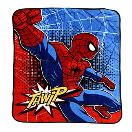 Marvel Spider-Man Silky Soft Plush Throw Blanket for Kids - 40 x 50 Inch