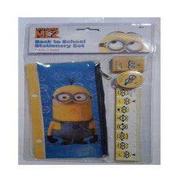 Despicable Me Stationery 4pc [4 Retail Unit(s) Pack] - DSM7773