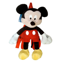 "Disney Mickey Mouse Plush 16"" Backpack Doll Party Accessory"