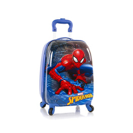 Marvel Spiderman Hardside Spinner Luggage for Kids - 18 Inch [ Spider-Man ]