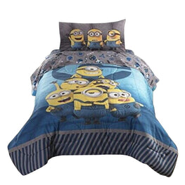Minions Despicable ME3 Follow Mel Reversible Twin/Full Comforter