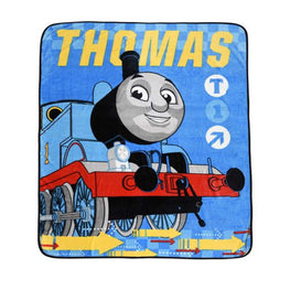 Thomas and Friend Twin Size Super Plush Kids Throw Blanket